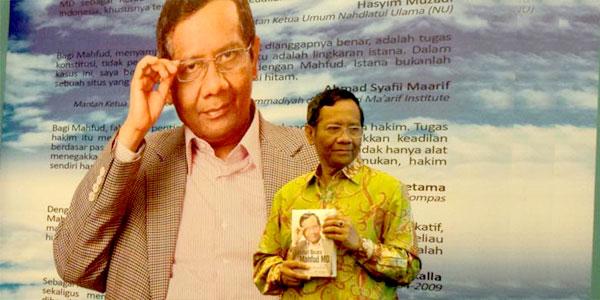 Peluncuran buku Sahabat Bicara Mahfud MD