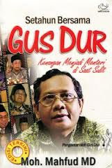 Mahfud MD dan Gus Dur