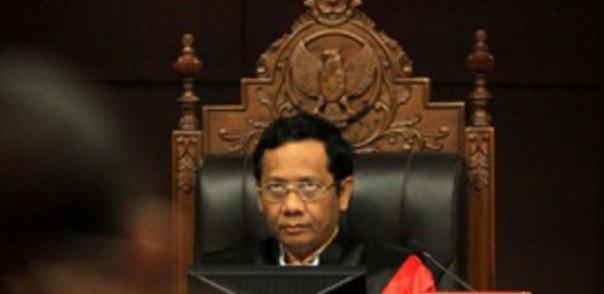 Mahfud MD ketua Mahkamah Konstitusi (MK)