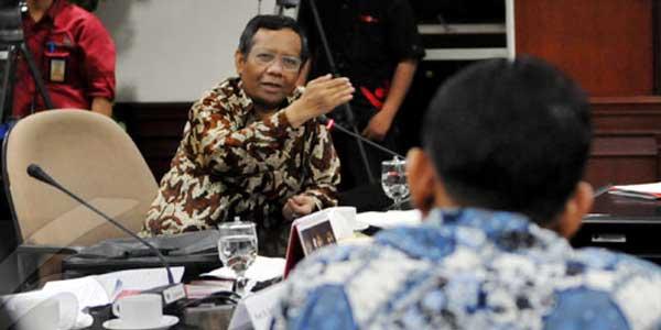 Mahfud MD bersaing dengan JK dan Rhoma Irama jadi capres PKB