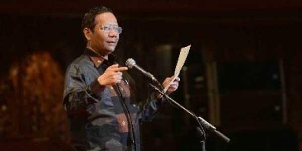 Mahfud MD korupsi hancurkan NKRI