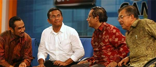 Mahfud MD dan Dahlan Iskan