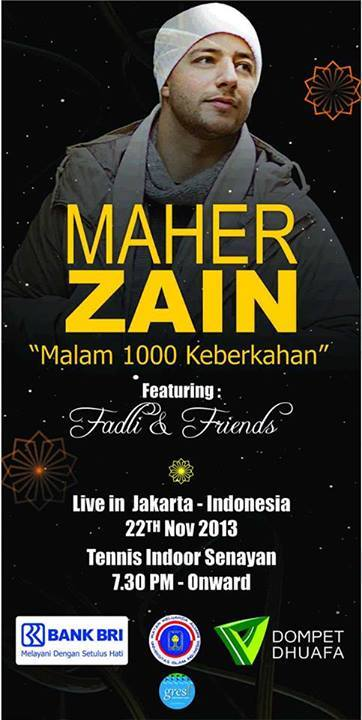 Maher Zain konser di Jakarta