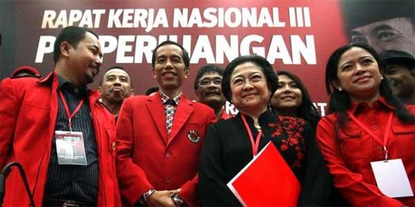 Jokowi masih dibimbing Megawati