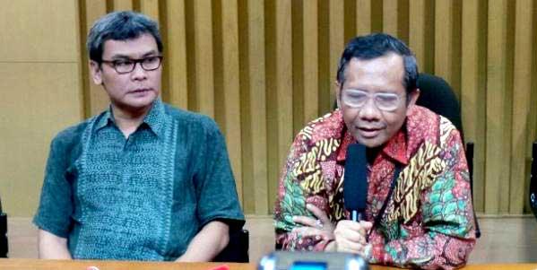 Mahfud MD Menegakkan Hukum Bisa untuk Ciptakan Keadilan Ekonomi