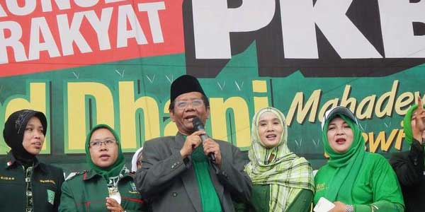 Mahfud MD kampane PKB
