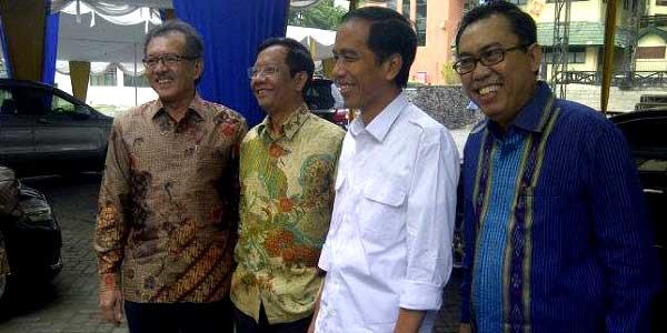 Mahfud MD & Jokowi sering ketemu